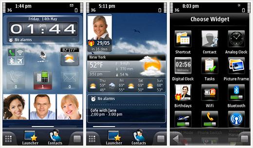 С помощью программы для смартфонов SPB Mobile Shell Ваш телефон
